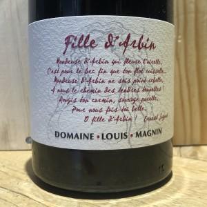 Vin Rouge Savoie Mondeuse La Fille D'Arbin Louis Magnin 2016 75 cl