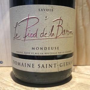 Vin Rouge Savoie Bugey Mondeuse Le Pied De la Barme Domaine Saint Germain 2016 75 cl