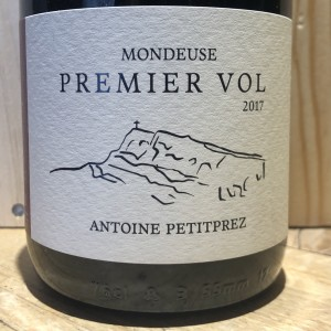 Rouge Savoie Mondeuse Premier Vol Petitprez 2017