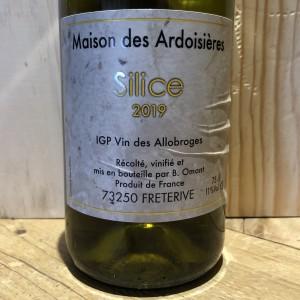 Savoie SILICE Domaine des Ardoisières IGP Vin des Allobroges Brice Omont 2019 75 cl